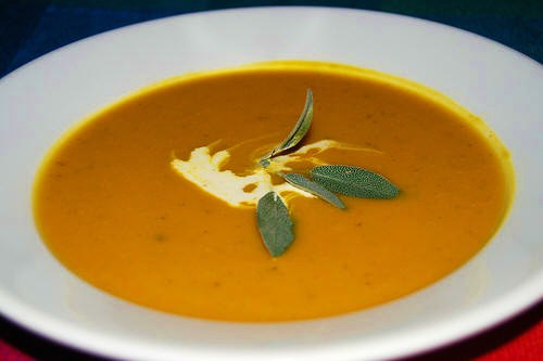 Roasted Butternut Squash And Sweet Potato Soup Recipes Dishmaps